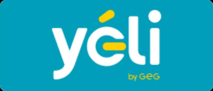 Logo de yéli, fournisseur de gaz partiellement vert
